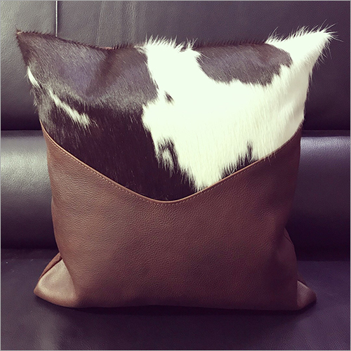 Soft Leather Cushion Cover