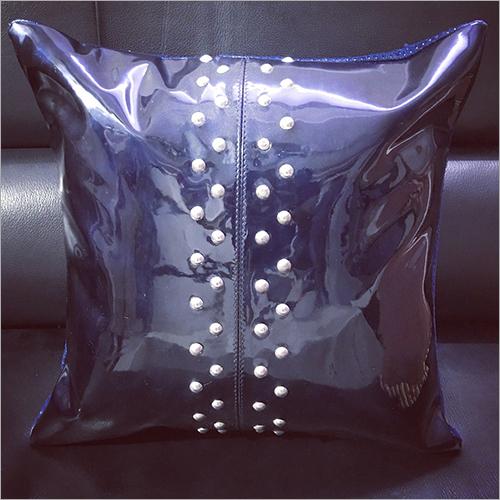 Plain Leather Cushion Cover