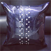 Plain Leather Cushion Cover