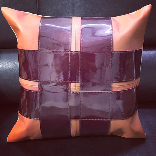 100 Percent Pure Leather Cushion Cover