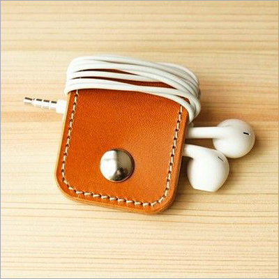 Genuie Leather Earphone Holder