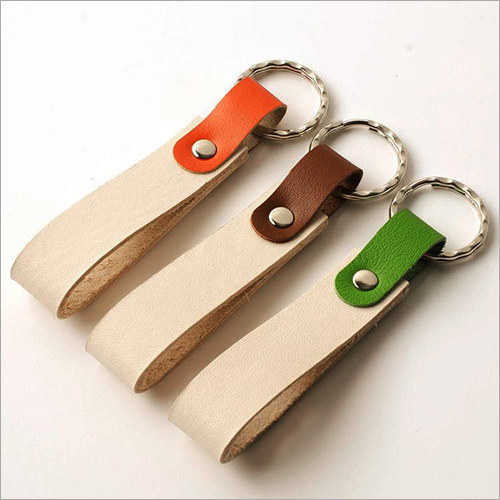 100 Percent Pure Leather Keyring