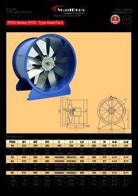 POG Exhaust Fan ( Pog Type Axial Fan )