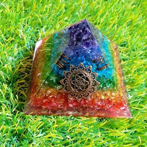 Orgone 7 Chakra Pyramid