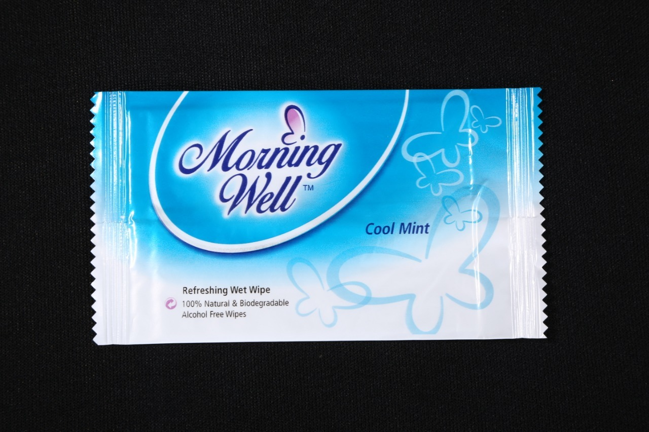 Wet Wipes Cool Mint