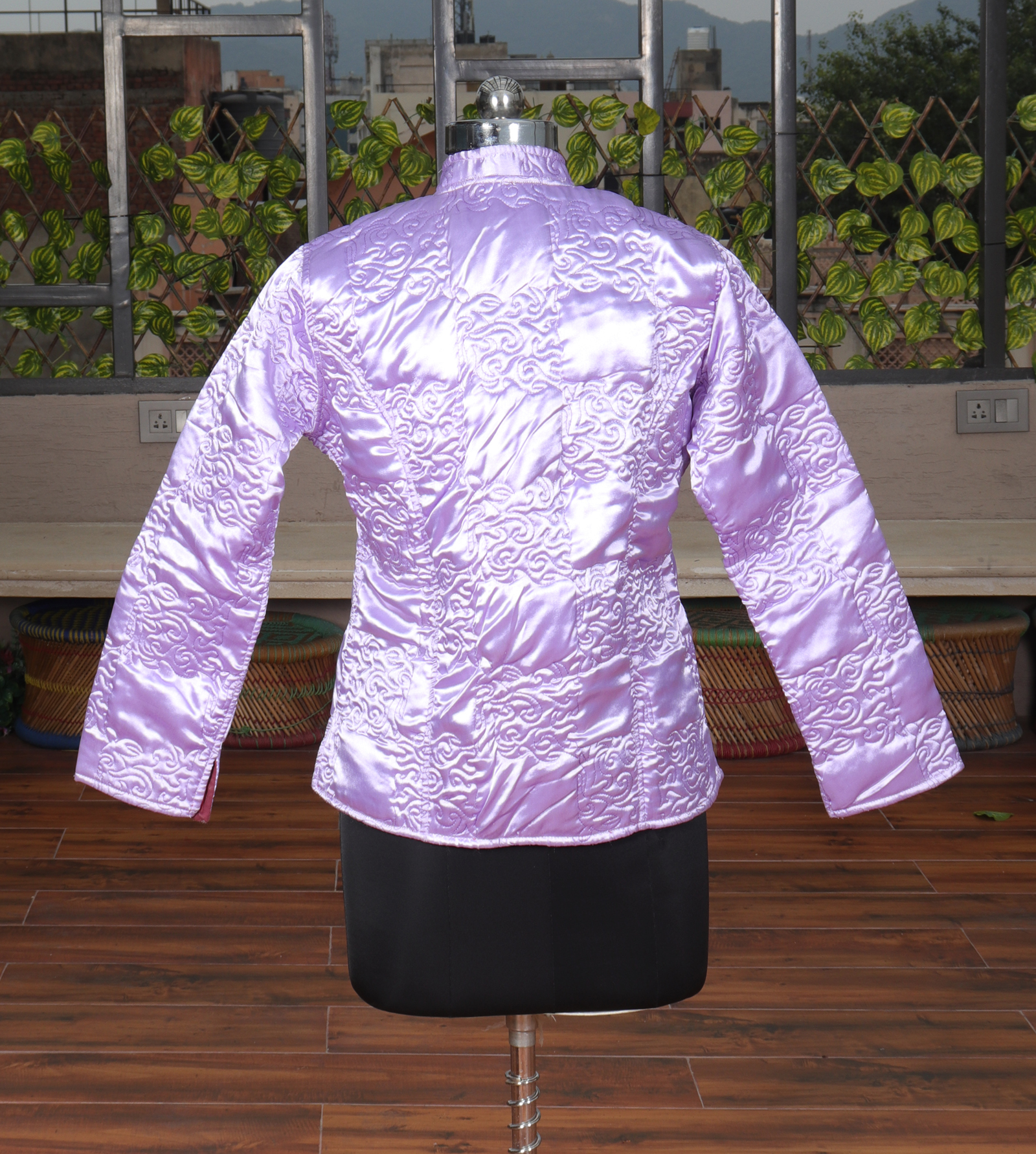 Satin Silk Jacket