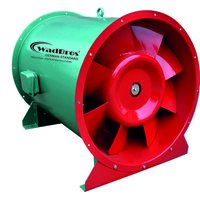 HTF Industrial Ventilation Fan ( All type Fan Fire - Control for Smoke Extraction )