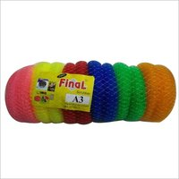 A 3 Final Nylon Scrubber