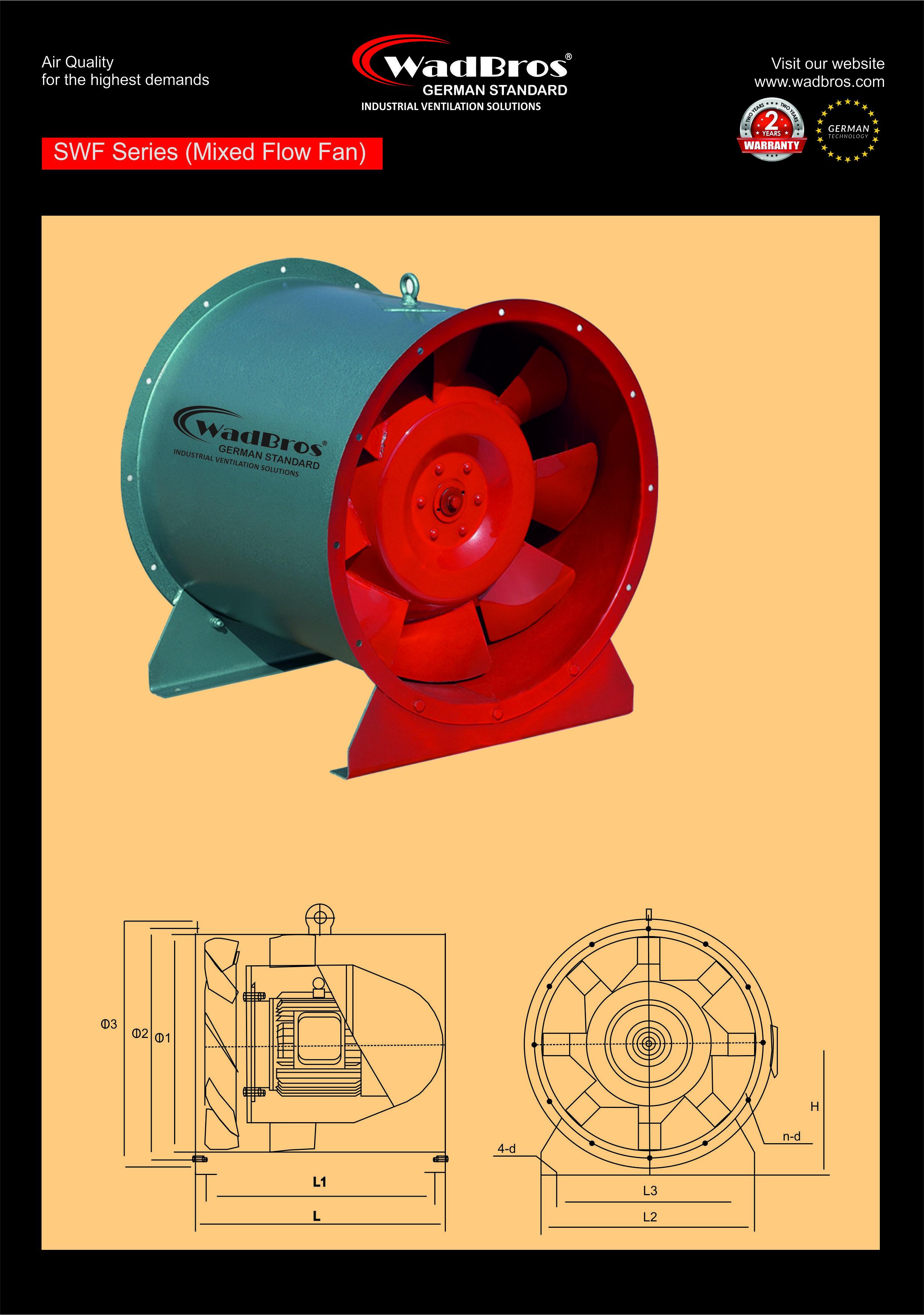 Swf Exhaust Fan ( SWF -I- 3.5A )