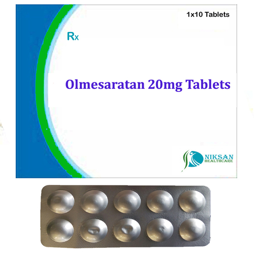 Olmesaratan 20Mg Tablets
