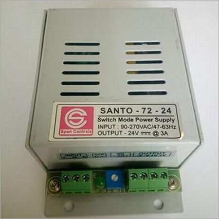 Span Santo-72-24 PS-24V 3A SMPS Output Voltage 24v Dc Input Voltage 90 To 270 V Ac