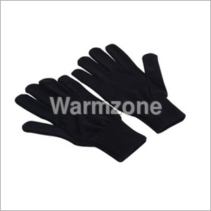Unisex Plain Hand Gloves