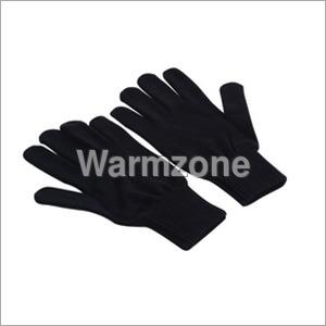 Unisex Plain Hand Gloves