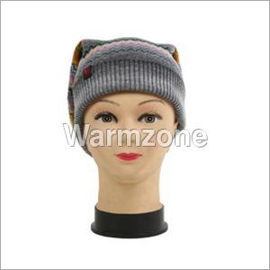 Ladies Woolen Fancy Caps