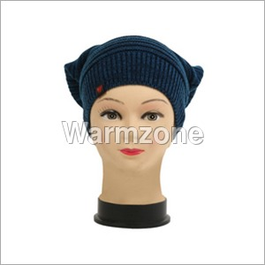 Ladies Woolen Designer Caps