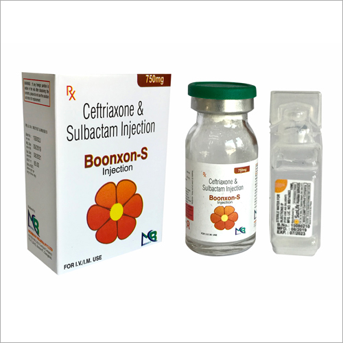 750 MG Ceftriaxone And Sulbactam Injection