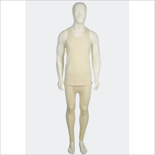 Men Plain Thermal Wear Set