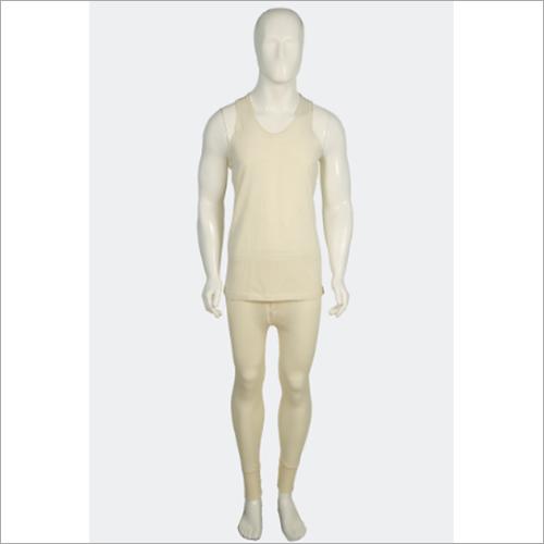 Men Plain Thermal Wear Set