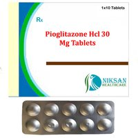 Pioglitazone Hcl 30 Mg Tablets