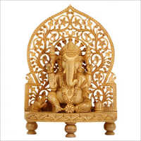 Laser Engraved Ganesha Idol