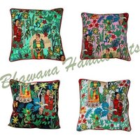 100% Cotton Farida Kahlo Cushion Cover Hippie Frida's Pillowcases