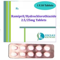 Ramipril 5Mg Hydrochlorothiazide 12.5Mg Tablets