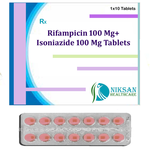 Rifampicin 100 Mg Isoniazide 100 Mg Tablets