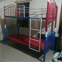 Polished Stainless Steel Bunk Bed