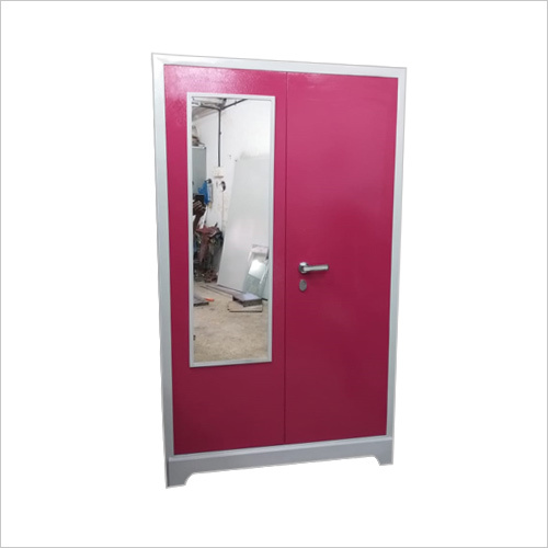 Glass Door Metal Almirah