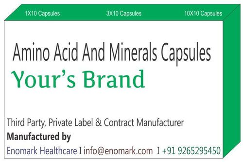 Amino Acid and Minerals Capsules