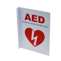 Medical AED 90 Degree Type Sign