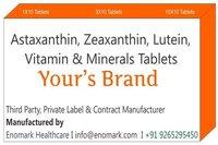 Astaxanthin Zeaxanthin Lutein Vitamin&Minerals