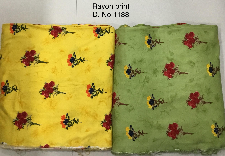 140GSM Rayon Printed Fabric
