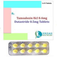 Tamsulosin Hcl 0.4Mg Dutastride 0.5Mg Tablets