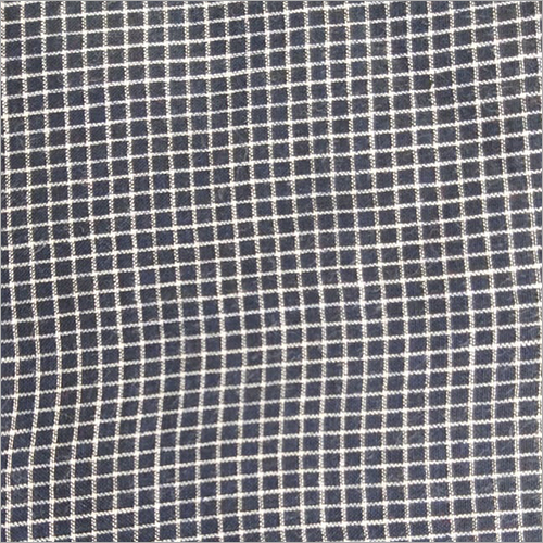 200C Black Check Cotton Fabric