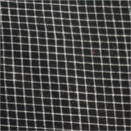 Cotton Check Fabric 200C