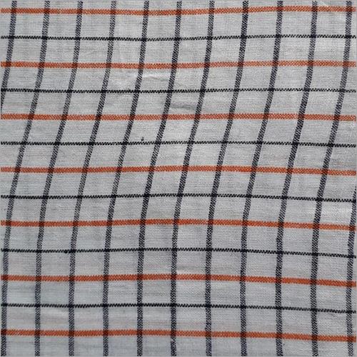 200C Cotton Formal Check Fabric
