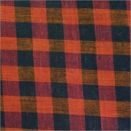 200C Red And Black Cotton Check  Fabric