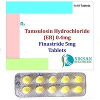 Tamsulosin Hydrochloride (Er) 0.4Mg Finastride 5Mg Tablet