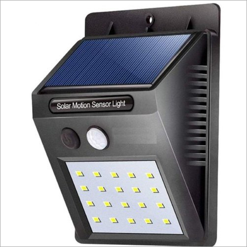 20 LED Rechargeable Solar Garden Light with Auto On Off Sensor