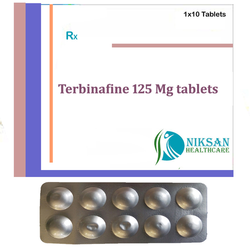 Terbinafine 125 Mg Tablets