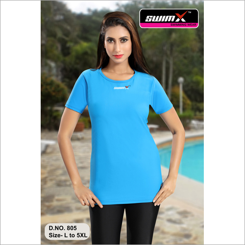 Swim Wear Plain T-Shirt