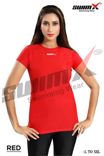 Ladies Swim Wear  T-Shirt