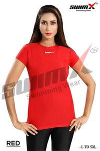 Swim Wear  Half Sleeves T-Shirt