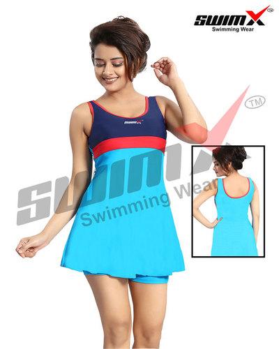 Sleeveless Ladies Swimming Costume