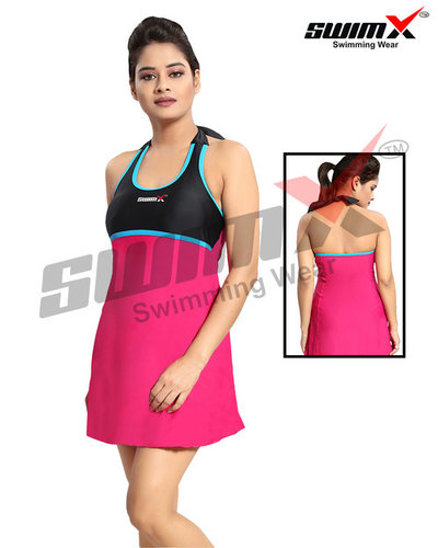 Ladies Alter Neck Swimming Costume