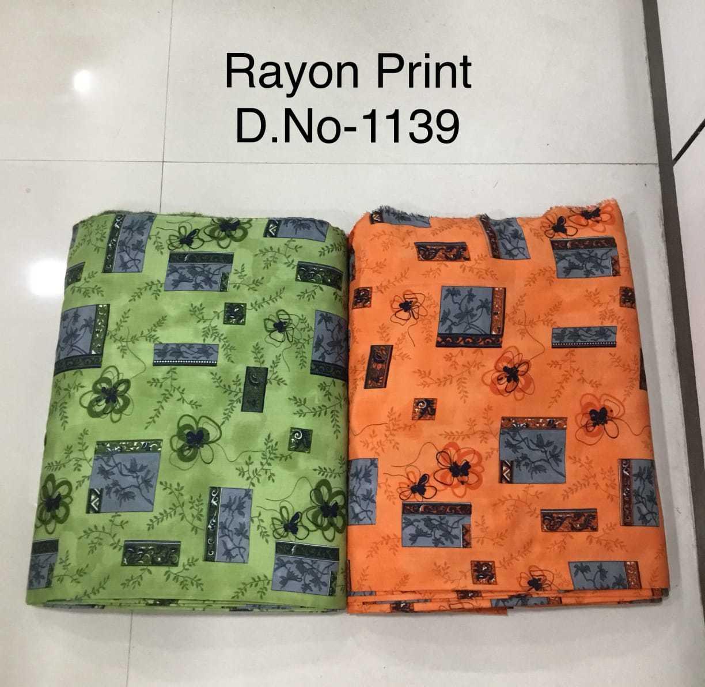 New design rayon printed fabric