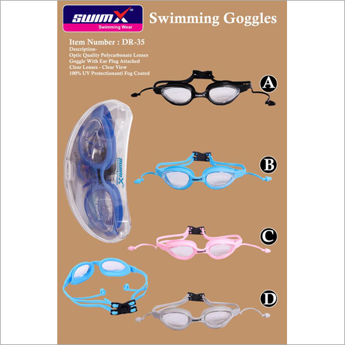 Swimming Goggles With Ear Plug