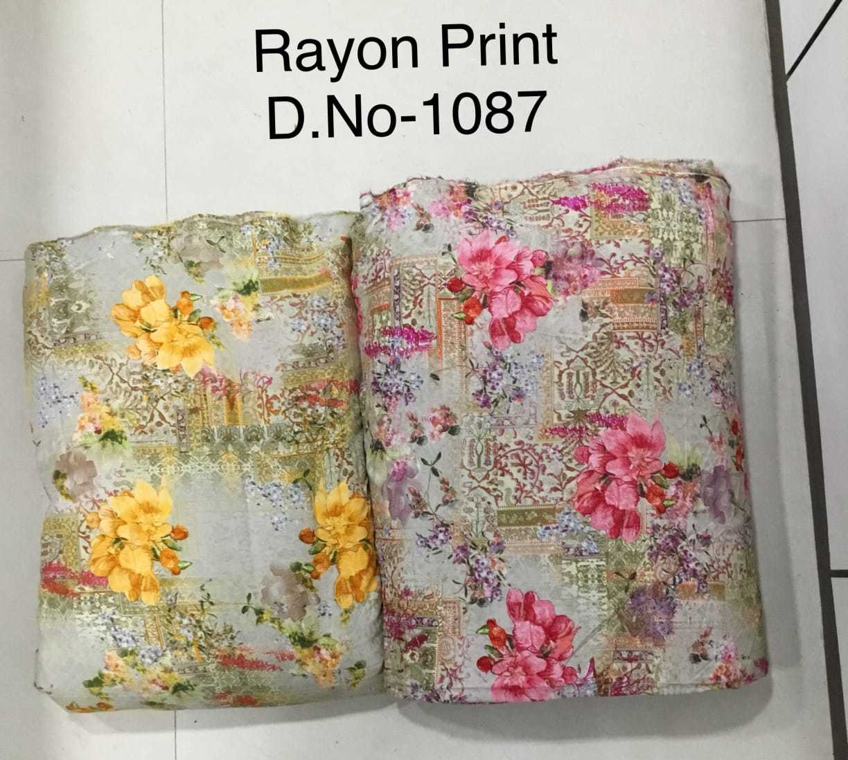 Multi Color printed fabric