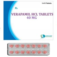 Verapamil Hcl 40 Mg Tablets